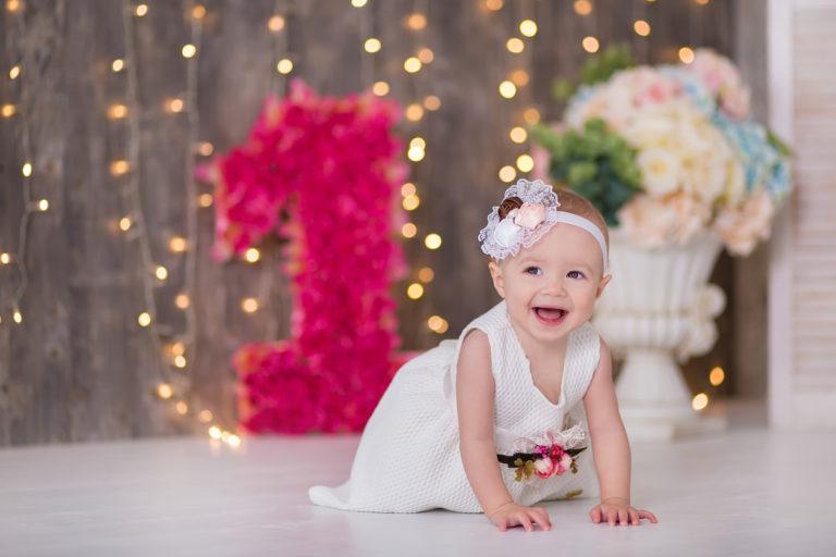 Первый День рождения малыша: цифра 1 на годик мальчику, девочке своими руками