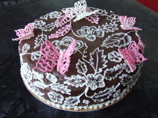 Роспись торта