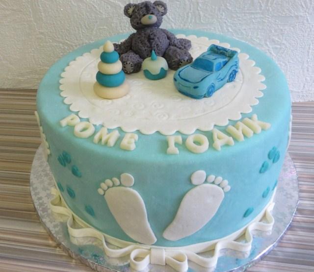 Торт мальчику