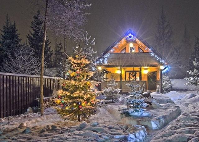 Как украсить дом (квартиру) на новый год | 458x640