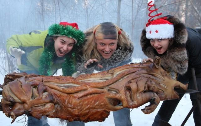 Новый год и мясо