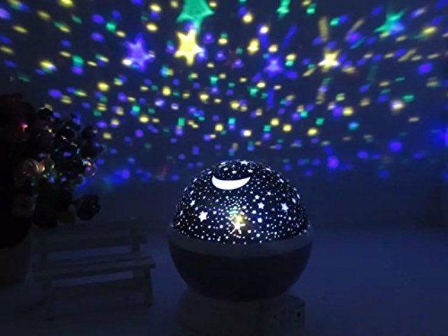 Детский светильник с проектором