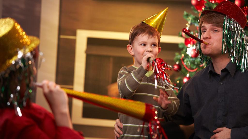 Новый год в ресторане с детьми