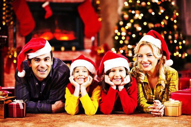 Новый год с семьей