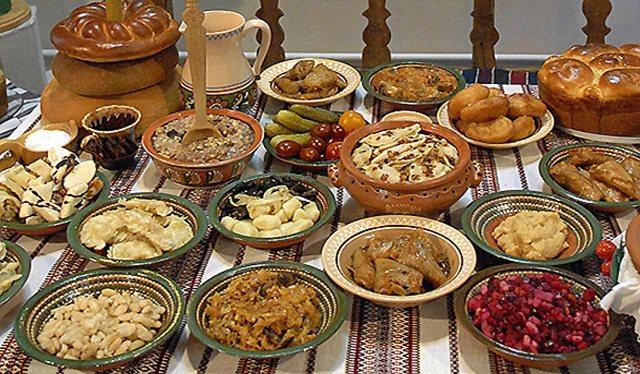 12 постных блюд на Святвечер