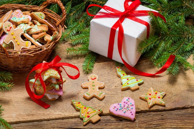 Рождество подарки