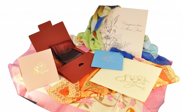 Платочки в подарочной упаковке