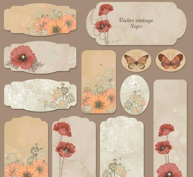 Ярлыки для цветов
