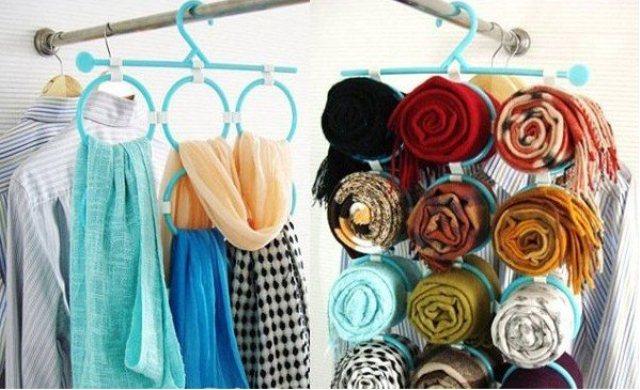 Органайзер для хранения шалей/шарфов