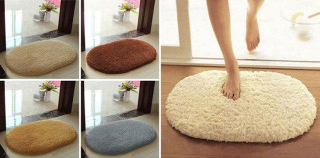 Мягкий теплый коврик