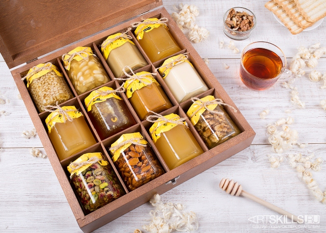 Набор баночек с медом