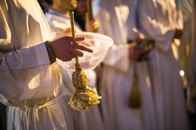 Литургия Крещения