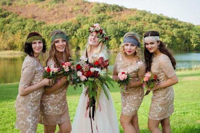 Свадьба в стиле Бохо летом