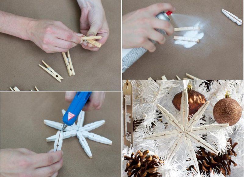 Как сделать новогодние украшения из дерева своими руками