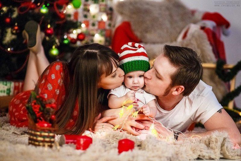 новогодняя фотосессия идеи для семьи фото считают самыми